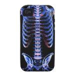 Huesos del tronco 2 iPhone 4/4S carcasa