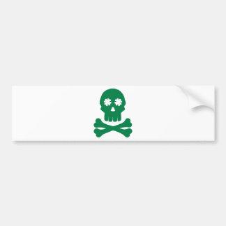 Huesos irlandeses del trébol del cráneo