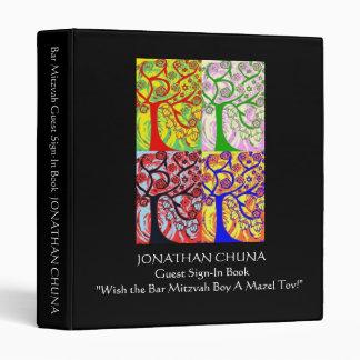 """Huésped de Mitzvah de la barra Muestra-En el libro Carpeta 1"""""""