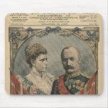 Huéspedes de Francia, rey Frederick VIII y reina Alfombrillas De Ratones