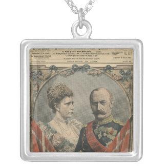 Huéspedes de Francia, rey Frederick VIII y reina Collar Plateado