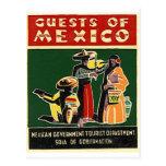 huéspedes de México Tarjetas Postales