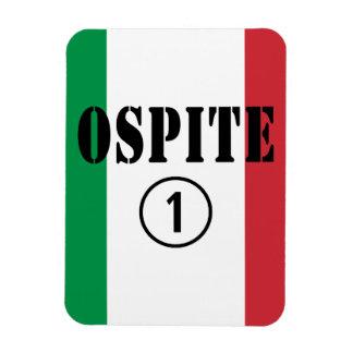 Huéspedes italianas: Uno de Ospite Numero Imanes Flexibles