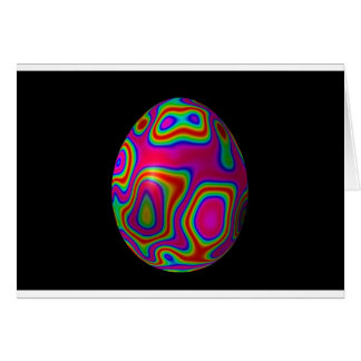 Huevo 5 de Psychadelic Pascua Tarjeta De Felicitación