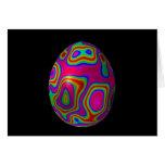 Huevo 5 de Psychadelic Tarjetón