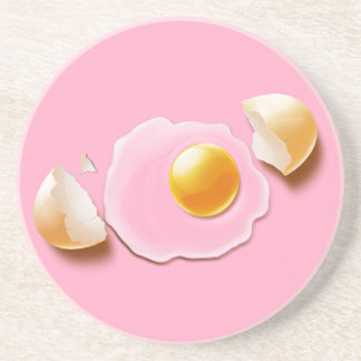 Huevo agrietado posavasos manualidades
