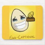 Huevo-Ceptional Alfombrillas De Ratones