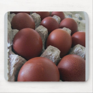 Huevo de cobre negro Mousepad de Marans
