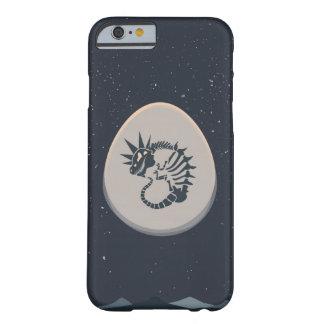 Huevo de dinosaurio punky del espacio funda de iPhone 6 barely there