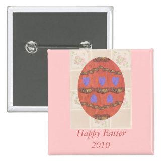 Huevo de encaje 2010, pin cuadrado