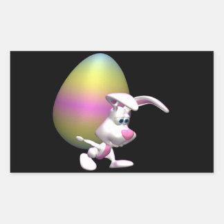 Huevo de Guinness Pascua Rectangular Pegatina