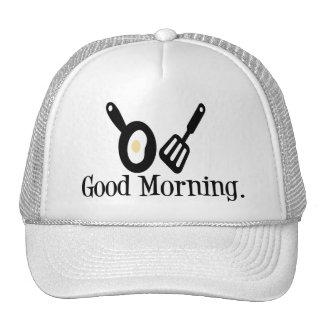 Huevo de la buena mañana gorro de camionero