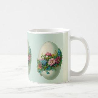 ¡Huevo de la flor de Pascua del Victorian! Taza