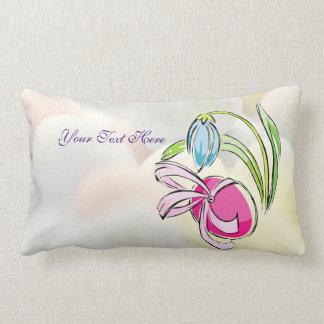 Huevo de Pascua, cinta y almohada del Lumbar del