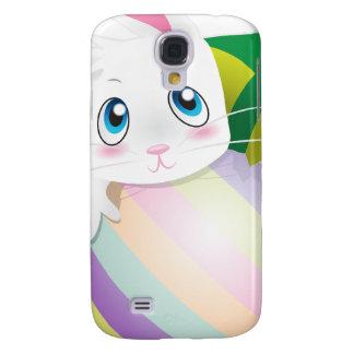 Huevo de Pascua con el conejito en el top Funda Samsung S4