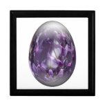 huevo de Pascua con glicinias Caja De Regalo