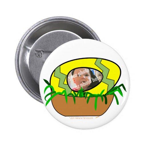 Huevo de Pascua de encargo de la foto en plantilla Pin