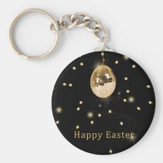Huevo de Pascua de la bola de discoteca - llavero