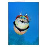 Huevo de Pascua del buceo con escafandra