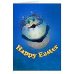 Huevo de Pascua del buceo con escafandra Downunder