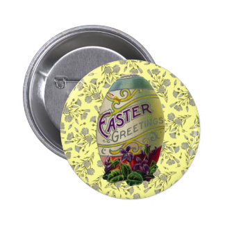 Huevo de Pascua del vintage Pin