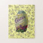 Huevo de Pascua del vintage Rompecabeza