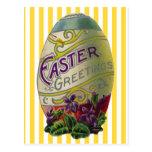 Huevo de Pascua del vintage Tarjetas Postales