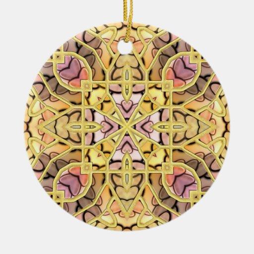 Huevo de Pascua dorado Ornamento Para Reyes Magos