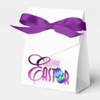Huevo de Pascua feliz púrpura Paquete De Regalo Para Fiestas