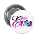 Huevo de Pascua feliz púrpura Pins