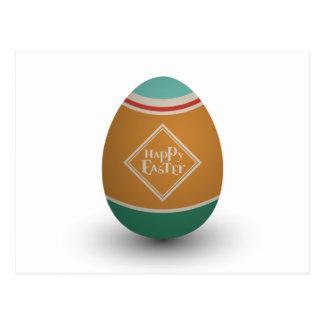 huevo de Pascua feliz Postal