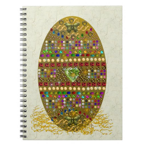 Huevo de Pascua Jeweled Libreta