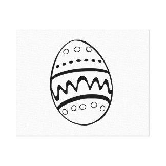 Huevo de Pascua Impresiones En Lona