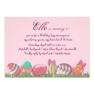 Huevo de Pascua marzo, fiesta de cumpleaños del dí