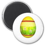 Huevo de Pascua pintado del jardín Imán Para Frigorifico