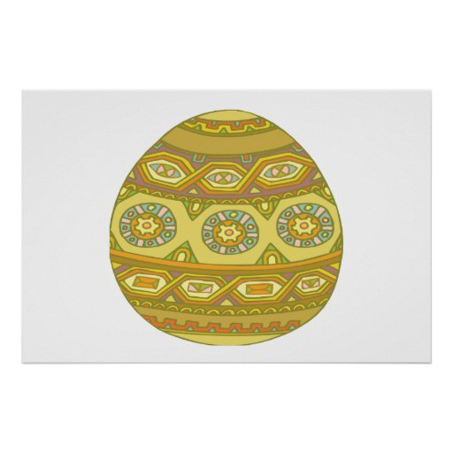 Huevo de Pascua Poster
