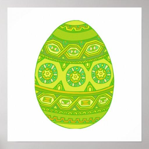 Huevo de Pascua Posters