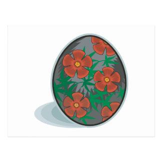 Huevo de Pascua Postal