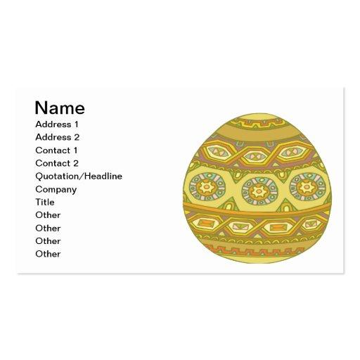 Huevo de Pascua Tarjetas De Visita