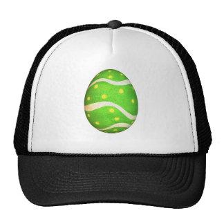 Huevo de Pascua teñido de los puntos Gorras De Camionero