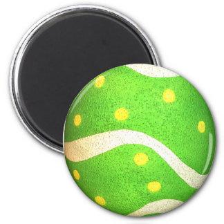 Huevo de Pascua teñido de los puntos Imán De Nevera