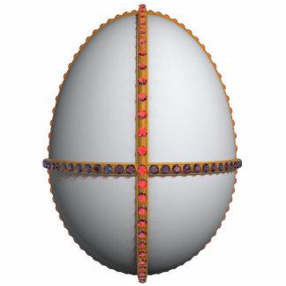 huevo de rubíes fotoescultura vertical