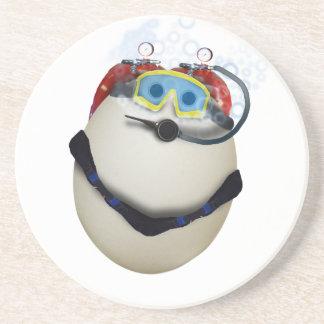 Huevo del EQUIPO DE SUBMARINISMO - empresa Posavasos Manualidades