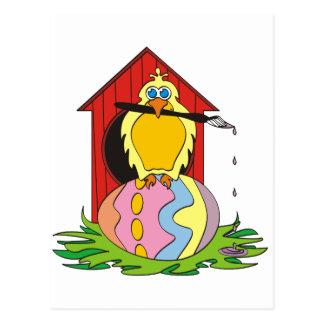 Huevo del pájaro de Pascua Postales