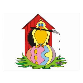Huevo del pájaro de Pascua Tarjetas Postales
