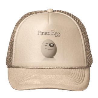 Huevo del pirata gorras de camionero