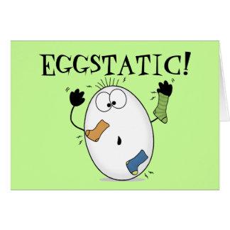 Huevo Eggstatic-Extático Felicitación