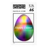 huevo en colores pastel, Pascua feliz