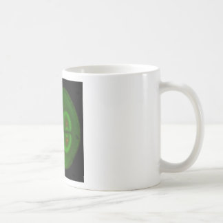 Huevo fertilizado de la rana taza de café