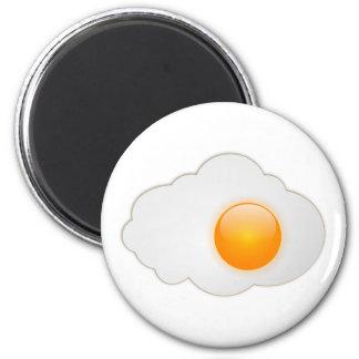huevo frito imán de frigorifico